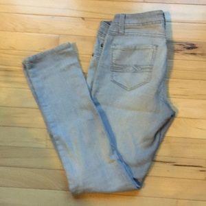 Misses straight  leg petite jeans.  Size 4P